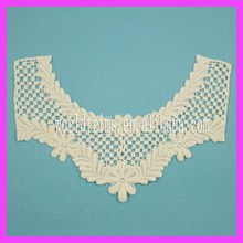 Free sample crochet neck lace trims for garment