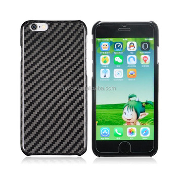 For iPhone 6 Plus case, High Quality Glossy UV Genuine Carbon Fiber Case for iPhone 6 Plus 5.5'