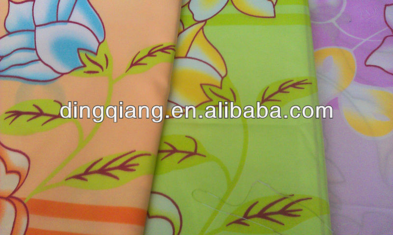 70gsm 100% polyester microfiber bed sheets/mattress/home textile fabric