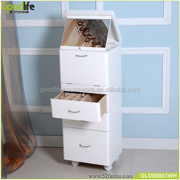 Nouvelle arriv e miroir armoire de rangement en bois pour le maquillage en ch - Meuble de rangement pour maquillage ...