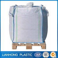 Indusry use big bag 1000kg FIBC/bag super sacks for sand cement and chemical,1 ton pp woven big bag factory in shandong