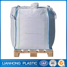 Industry use sand cement big bag 1000kg FIBC/bag super sacks for sand cement and chemical, china factory 1 ton pp woven big bag