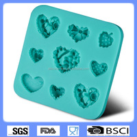 silicone cake mold cake decorating tools chocolate molds love combining graphics fondant mold CD-F338