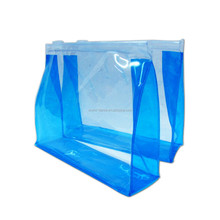 Custom plastic reusable ziplock bag waterproof pvc swimwear swimsuit bikini bag