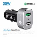 Quick Charge 3.0 Portable Tablet Fast Charging Usb Car Charger
