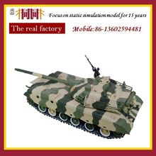Top 10 die cast high quality 1:24 scale metal tank model chinese factory