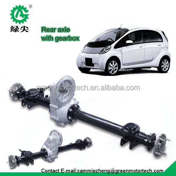 electric trike rear axle, electric vehicle rear axle for golf cart