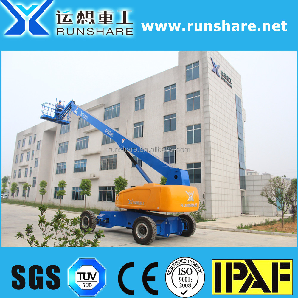 good quality 32m skylift telescopic boom lift