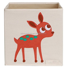Foldable Canvas Storage Box Large Cube Toy Bin