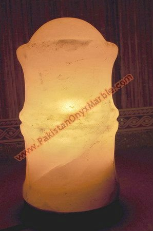 salt lamp Natural and crafted