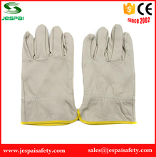 Jespai soft working cow leather driver gloves