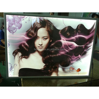 CE passed shenzhen factory OEM Good quality aluminum frame snap frame acrylic photo picture frame !