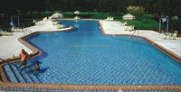 common blue swimming pool tiles for sale
