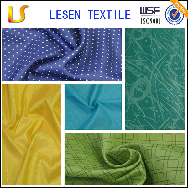 Lesen names of clothing materials/ pongee