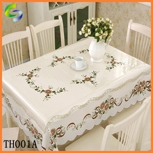 white vinyl table cover tablecloth in roll