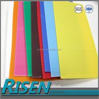Best-selling uv flat bed printer coloured pp 4mm corrugated plastic sheets