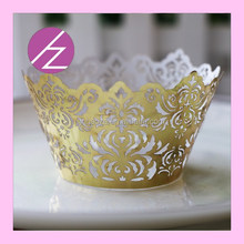 DG-32,Elegant unique design Europe style cupcake wrappers for wedding