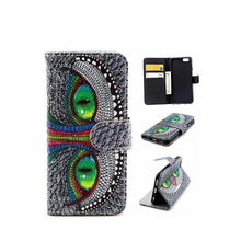 New Book Printed PU Leather wallet cellphone case skin cover for iphone 4s