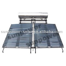 project open system solar collector