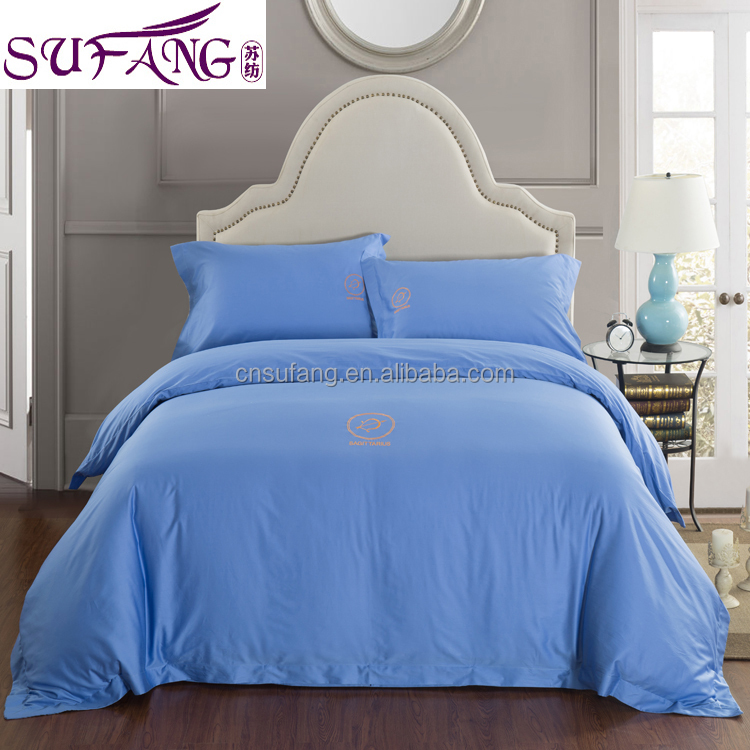 2017 Alibaba Supplier High Quality Long staple Cotton Bedding Set Manufacturer 100% Long-staple Cotton Satin Bedding Set