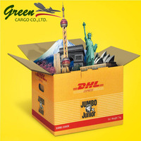 Flexible dhl freight schedule forwarder from China to Peru Brazil fast delivery logistics sea/air shipping