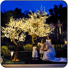 Party decoration decorations wedding decor light up artificial cherry blossom tree outdoor lighted trees