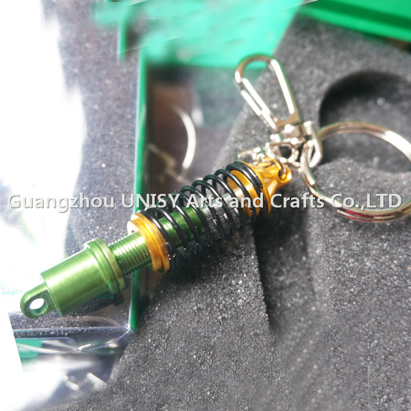 Car Auto Tuning Parts Key Chain Damper coilover Keychain Keyring wholesale