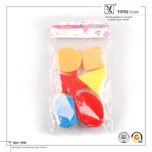 Free Sample Promotional Different Shapes Foam Brush