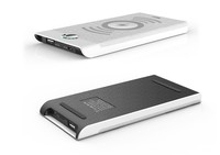 Triumph modern fashionable design dc5v charger / black charging power bank / white wireless charging