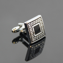 Wholesale Fashion High Quality Cufflink Luxury Simple Suitable Men Business Staff Novelty Design Suit Shirt Cufflinks