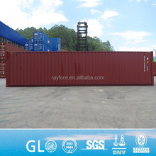 RAL color CSC certified 40ft empty shipping container
