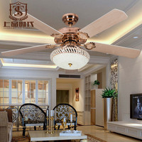 simple modern ceiling fan with light and crystal pendant