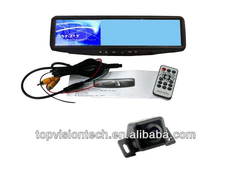 "High quality mirror 4.3 ""lcd monitor with Mp5 and bluetooth TX4315"