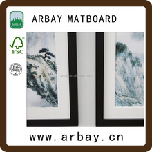 high quality 3d pictures with picture mat/mounting board
