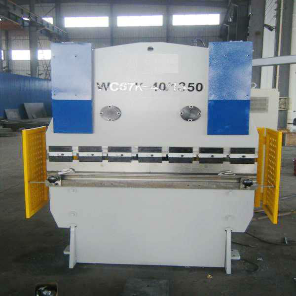 CNC mini hydraulic press brake machine with DA41 from delem