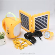 Low price made in china rechargeable led emergency light photovoltaic solar battery charger