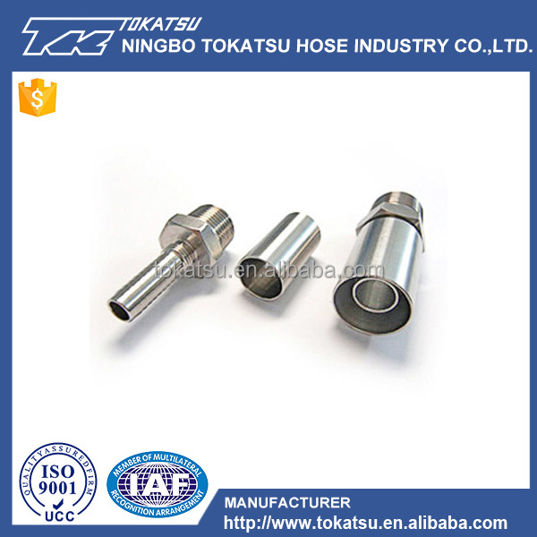 Nptf Hydraulic Sanitary Hose Fitting For Hydraulic Hose Pipe