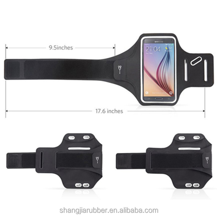 CUSTOM Cell Phone Jogging Sports Armband Case and Running Neoprene Armband For iPhone