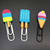 Ice Cream Shape Soft Pvc Rubber