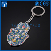custom metal factory decorative keychain
