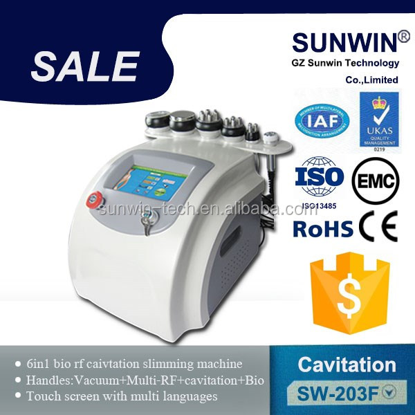 Non-surgical RF body slimming machine/cavitation fat reduction/rf machine korea