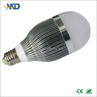 9w LED ball lamp E26 E27 E14 B22 bulb 90-277V or DC12V solarled bulb manufacturing led bulb 9w