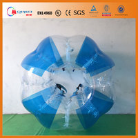 Hot selling !!! 0.8mm PVC Human Bubble Ball For Adult Inflatable Bumper Ball WIth Good Prices