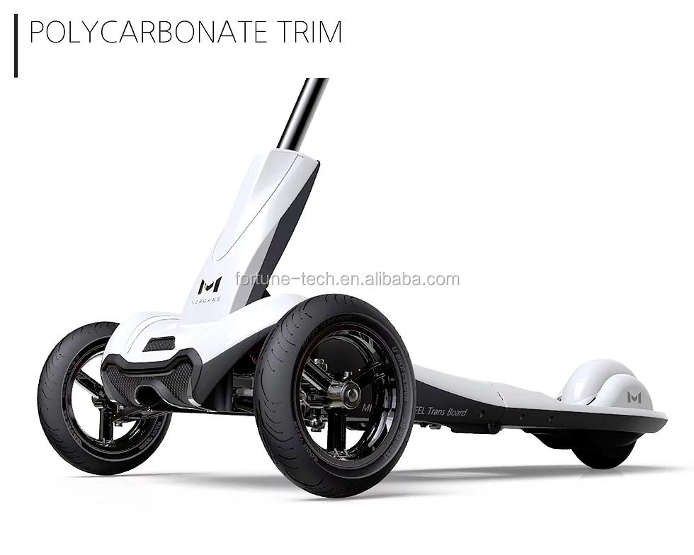 2017 New 3 wheel personal mobility transboard Electric Scooter hoverboard with the best driving stability and technology