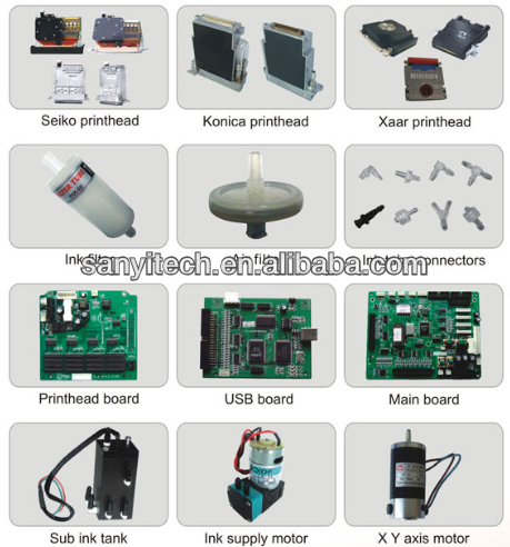 Inkjet Printer Spare Part (Eco Solvent Printers, Solvent Printers, Japanese Printers)