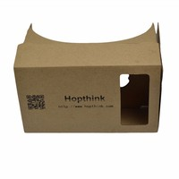 2016 cheap cardboard 3d glasses plastic google cardboard vr 3d glasses