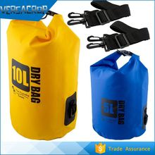 VC120 water proof PVC Tarpaulin Dry Bag with Shoulder Strap/ Camping Dry bag