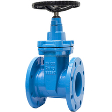 GGG50 resilient seated gate valve DN100