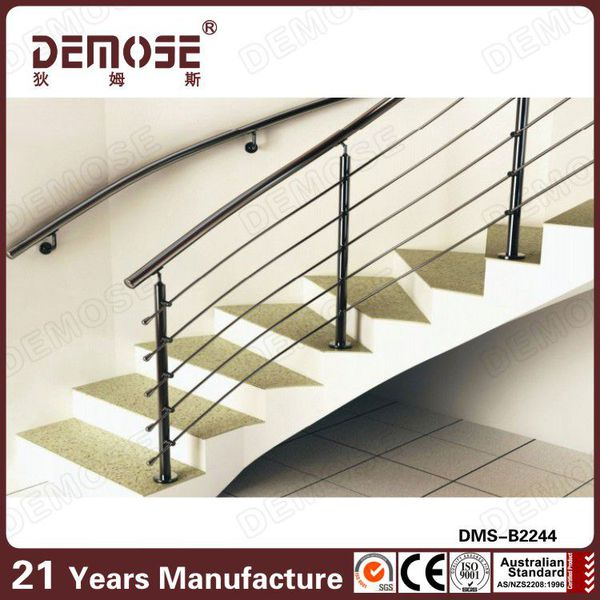 portable stair metal railings design
