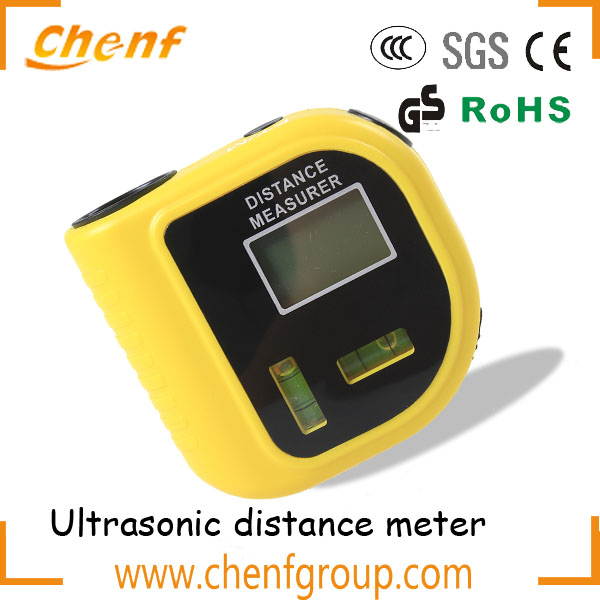 Newest mini portable ultrasonic distance measurer with Bubble Level 18m